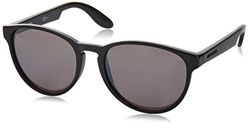 Carrera Junior Unisex-Kinder CARRERINO 16 JI D28 Sonnenbrille, Schwarz (Shiny Black/Grey Silver Fl), 49