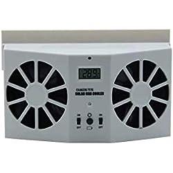 YCHSG Réfrigérateur Solaire de Voiture Ventilateur de Voiture d'échappement Ventilateur de Voiture désurchauffeur de Voiture réfrigérateur