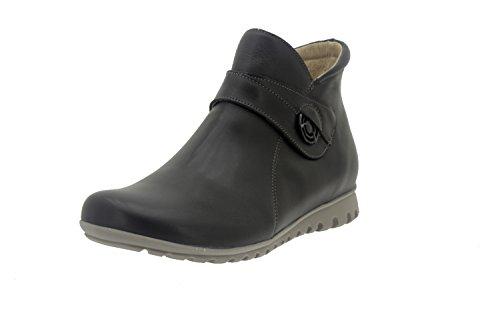 Chaussures Confort Femme Cuir Piesanto 7541 Bottines Confort Décontracté Largeur Spéciale Negro