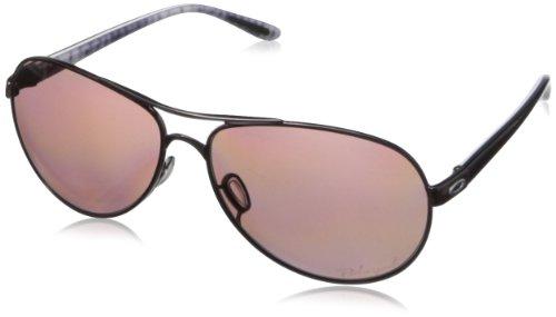 Oakley Unisex Aviator Sonnenbrille Schwarz (Aviator Oakley Sonnenbrille Damen)