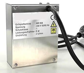Grillmotor für Grillgut bis 10 kg 220 V