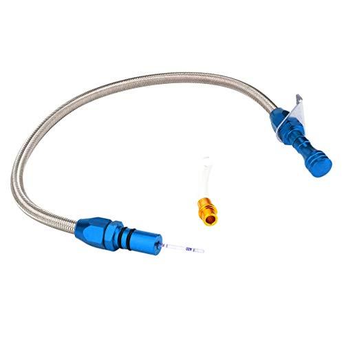 SEN CNSPEED TH350 Misuratore Livello Olio Trasmissione Olio Asta Livello Olio per Chevy Blue