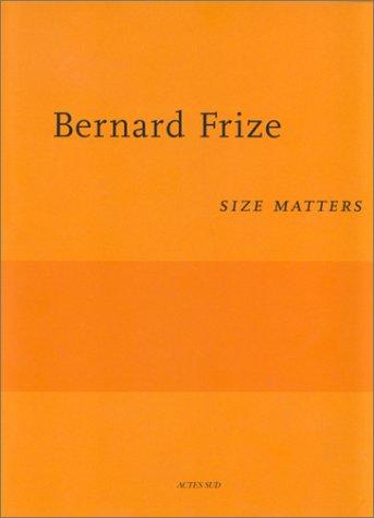 Bernard Frize (en allemand et anglais)