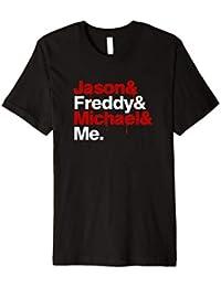 Horror und Filmfans Shirt | Jason Freddy Michael | Geschenk