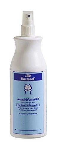 Bactazol Desinfektionsmittel, Rundum-Hygiene mit 3-fach Wirkung: desinfiziert, reinigt, desodoriert, 500 ml - Desinfiziert
