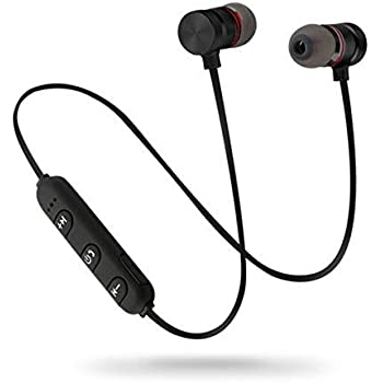 c5a821b15010a1 Quick Shop Wireless Bluetooth Headphones in-Ear Sport Wireless Earphones  with Hands-Free MIC & Earphone Super High Bass Compatible with Samsung,  Oppo, ...