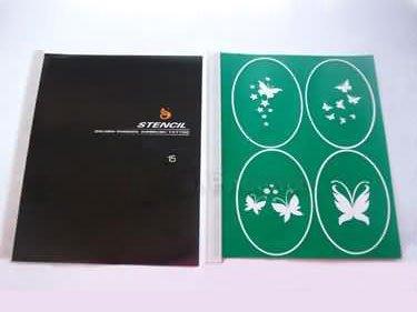 Airbrush Tattoo-Schablonen - Buch 15 - new -