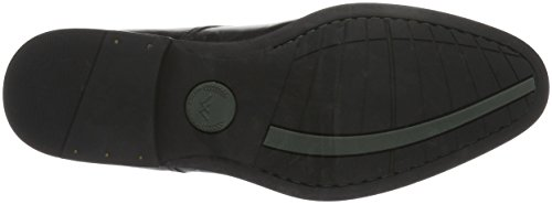 Weber Schuh - Derby Cap Toe, Scarpe stringate Uomo Schwarz (9999)