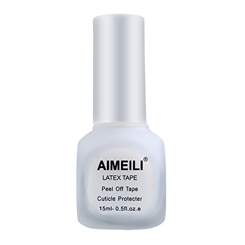 AIMEILI Liquid Latex Peel Off Hautschutz Fingerschutz für Nail Art 15ml