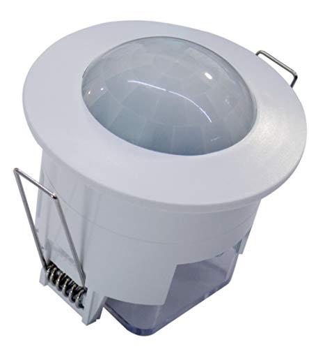 (LA) Offre détecteur présence, capteur de Mouvement Plafond encastrable °. Compatible LED. Interrupteur Automatique par Mouvement.