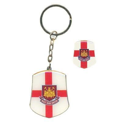 West Ham Club - Llavero con Insignia y Llavero