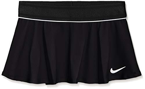 Nike Mädchen G NKCT Flouncy Skirt, Black/White, S -