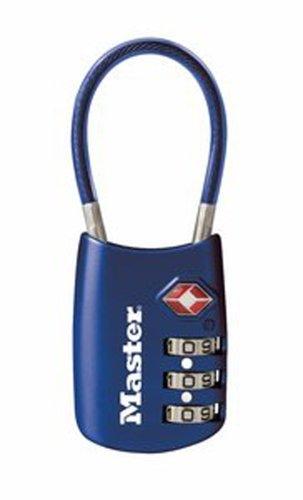 Master Lock 4688d TSA aceptado Cable equipaje cerradura en varios colores,...