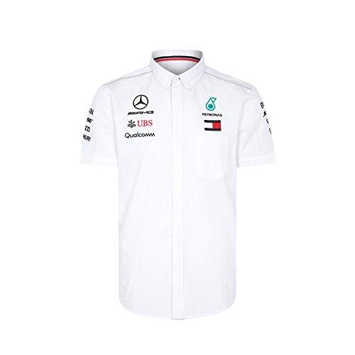 Inconnu 2018 Mercedes-amg F1 Lewis Hamilton Formule 1 à Manches Courtes  pour Homme Tommy 6b59dc830d4e1