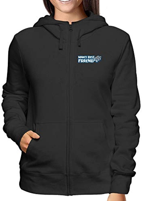 Sweatshirt donna BEER0030 Hoodie Zip nero BEER0030 donna Beer Man Best  Friend 555d22 f3d6150001e5