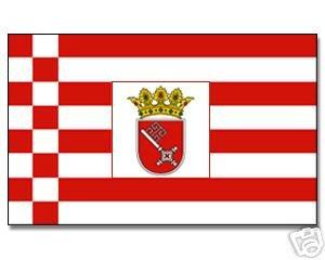 Yantec drapeau bremen 150 x 250 cm