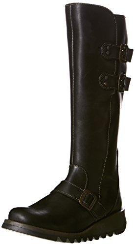 Fly London Solv Rug Women's Boots - Black, 5 UK