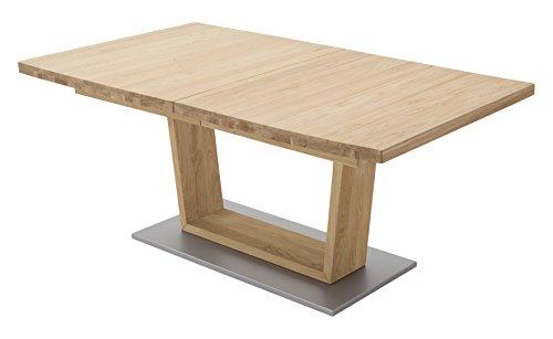Robas Lund, Tisch, Esszimmertisch, Cantania, Wildeiche/Massivholz, 140 x 90 x 77 cm, CAN14AWE