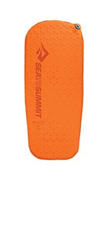 Aero Luftmatratze (Sea to Summit Ultraleichte, selbstaufblasende leichte Camping & Rucksackreisen-Schlafmatte, Unisex, 964, Orange, XS)