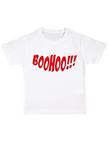 irt Bio Halloween Boohoo Weiß/Rot Größe 116 ()
