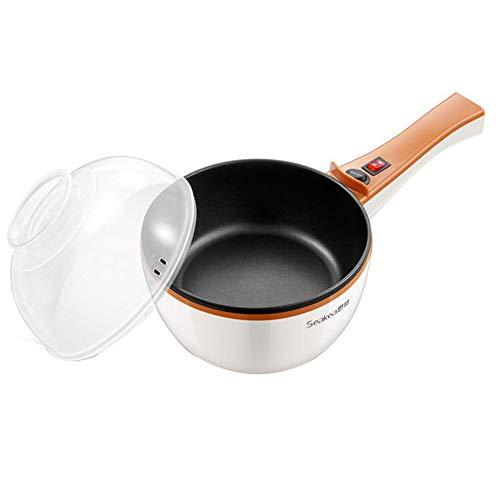 Baking tools wok elettrico multifunzione, 1.38l dormitorio per studenti di grande capacità, cucina, mini padella piccola pentola elettrica per 1-2 persone zddab