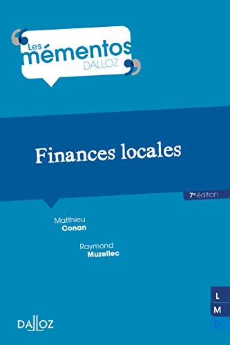 Finances locales - 7e éd. par Mathieu Conan