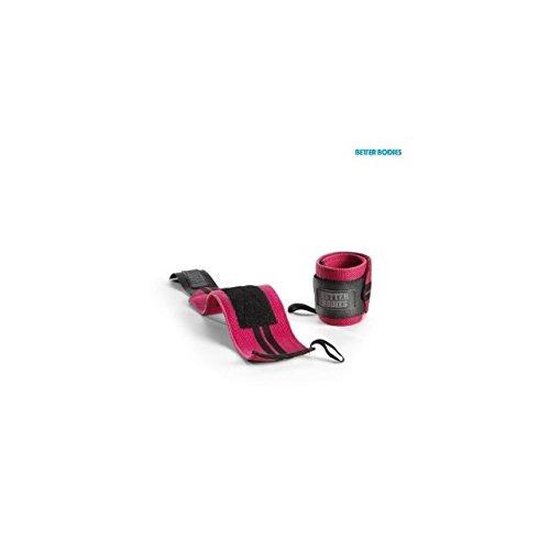 Womens Wrap (Better Bodies Womens Wrist Wraps - Handgelenkgurte - Profi Handgelenk-Bandagen für Kraft- & Fitness-Sport, Größe:Universalgröße, Farbe:schwarz / pink)