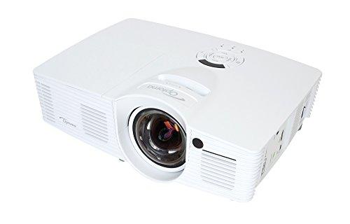 Optoma GT1080 Kurzdistanz DLP-Projektor (16:9, Kontrast25.000:1, 1920 x 1080 Pixel, 2800 ANSI Lumen, , ) 9 Portable Tripod Screen