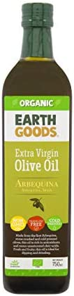 Earth Goods Organic Extra Virgin Olive Oil, 750 ml