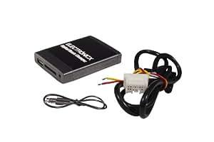 USB MP3 AUX SD CD Bluetooth kit mains libres Interface Adaptateur autoradio Nissan Almera, Primera, Micra,Navara ,Qashqai,Note ,Tiida, X-Trail Electronicx®