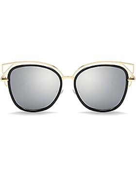 KUKI Gafas de sol brillantes grandes de la moda de las mujeres , 4