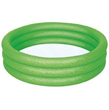 Swimmingpool Planschbecken Aufblasbar 3 Ring Spielzeug Kristall Paddeln Garten Spielen 152.4cm X 30.5cm Von Bestway - Grün #51026
