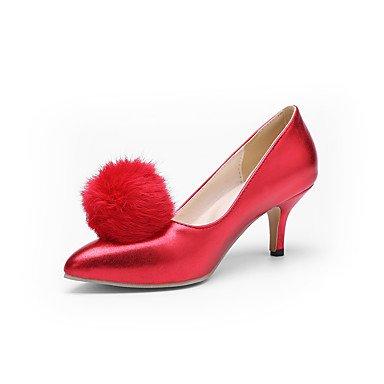 Talloni delle donne Primavera Estate Altro similpelle Abito a spillo tacco Altri Nero Blu Rosa Rosso Bianco Pink