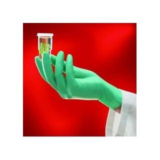 Ansell Healthcare 25–101/s neoTouch, Größe S (6,5–7) Einweg Handschuhe, Neopren-, puderfrei, hellgrün, 100Stück