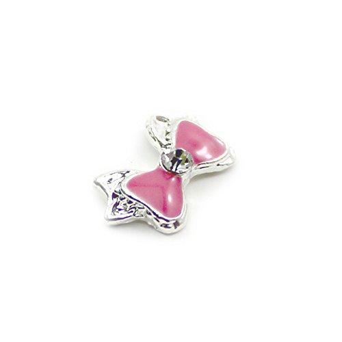 ddutm-10-stuck-rosa-strass-bowknot-manikure-nageln-aufkleber-korperkunst-versorgung