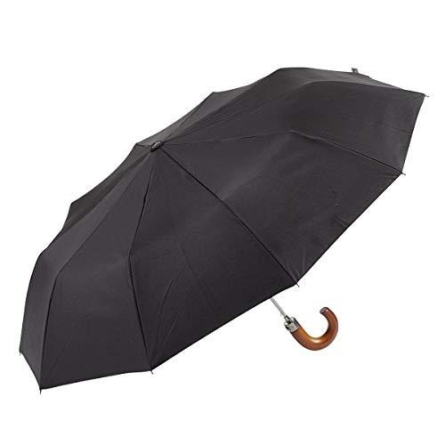 EZPELETA Paraguas Plegable Hombre. Automático puño