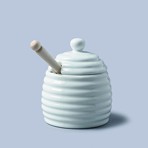 WM Bartleet & Sons Honey Pot White by CKS