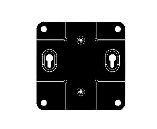 LG MPCBR01.AEU Acc Mini PC Bracket Monitor für 67 Series Acc-pc