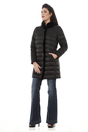 Max Mara Damen Daunenjacke Mantel schwarz schwarz 40