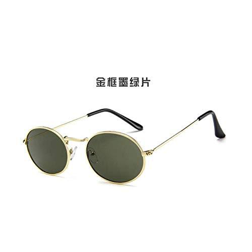 CAGSQ Sonnenbrillen Kleine Runde Frauen Sonnenbrille Männer Sonnenbrille Mode Designer Objektiv Mädchen Brillen -