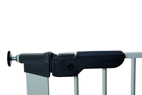 Baby Dan 60117-2693-02-85 Premier Tür / Treppenschutzgitter zum Einklemmen, 73.5 – 99.8 cm, silber / schwarz - 6