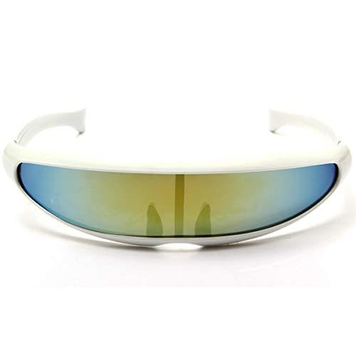 Goggle Occhiali da sole alla moda alla moda protezione UV400 Accessori (Colore : 07)