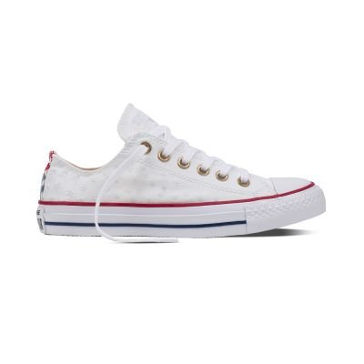 555882C|Converse CT AS Specialty Ox Sneaker, white casino, 36 EU (Slip On Converse Weiss)
