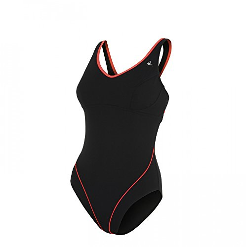 Aqua Sphere Damen Badeanzug schwarz/violett