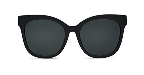 Quay Eyewear Damen Sonnenbrille IT'S MY Way, Black/Smoke, 150
