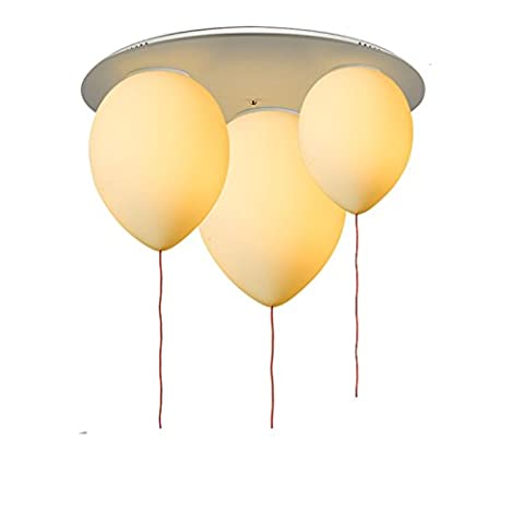 GRFH New Creative Designer Balloon Glass Ceiling Lamp Personality Creative