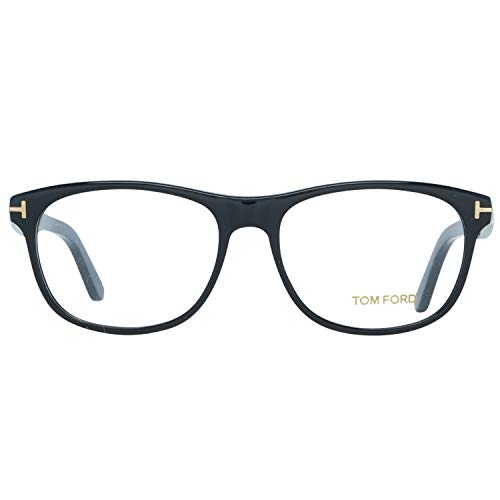 Tom Ford Herren Brille FT5431 001 55 Brillengestelle, Schwarz,