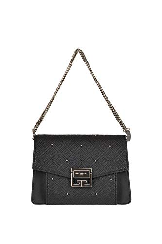 Givenchy GV3 Embellished Leather Bag Woman Black unica int.