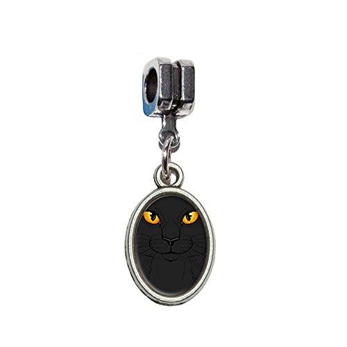 �Pet Kitty Halloween Italienisches europäischen Euro-Stil Armband Charm Bead–für Pandora, Biagi, Troll,, Chamilla,, andere (Troll Kostüme Für Halloween)