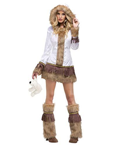 (Horror-Shop Sexy Eskimo Damen Kostüm M/L)